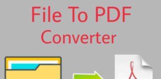 File ko PDF me Convert kaise kare