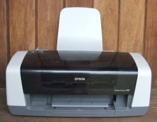 An Epson Inkjet Printer