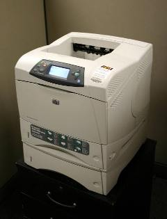 An HP Inkjet Printer