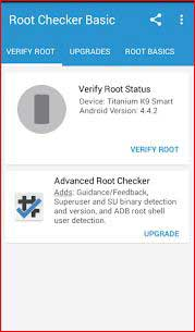 Root Checker tool