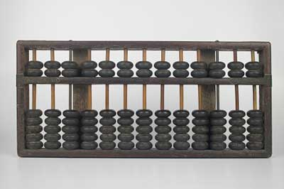 Abacus ancient calculating tool