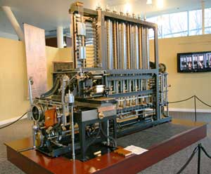 Difference engine london science museum