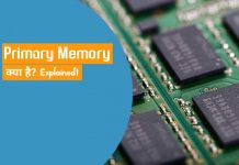 Primary Memory Kya Hai