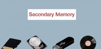 secondary memory kya hai hindi