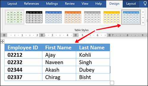 change-table-style-in-word