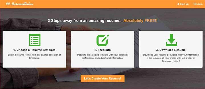 Online Resume Kaise Banaye Step2